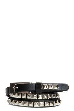 Tara Skinny Studded Belt    www.boohoo.com