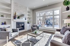 In love with this sunny living room. #naturallight#clean#mls#calgary#realestate#staging#calgarystager#dreamhome#mardaloopyyc #thisonewontlast#gorgeous