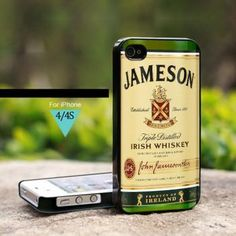 MQL0204 Jameson Irish Whiskey Ireland - For iPhone 4 Case, Hard Cover