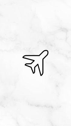 5 Capas para o seu Destaque dos Stories + Como Trocar a Capa Sem Postar a Imagem Feeds Instagram, Instagram Logo, Plane Icon, Insta Icon, Aesthetic Drawing, Instagram Story Template, Instagram Highlight Icons, Story Highlights, White Aesthetic