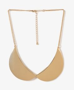 @Forever 21Peter Pan Collar Necklace