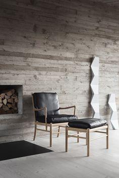Bungalow5_Carl Hansen Son_Colonial_Chair_Oak_Black_Leather