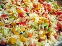 Salade Riz - Tomate - Concombre - Maïs - Jambon