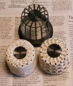Emilian kotona Havumetsäntiellä: kierrätysmateriaalista tehtyä