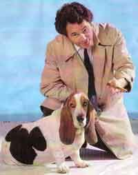 Columbo and Fred. Columbo Peter Falk, Look Alike, Celebrities, Dogs, Animaux, Celebs, Pet Dogs, Doggies, Celebrity