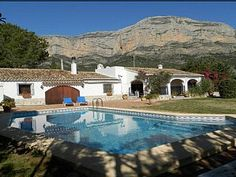 Rustic+Villa+with+Montgo+backdrop+and+private+pool+in+secluded+garden+++Holiday Rental in Javea, Moraira and Denia Area from @HomeAwayUK #holiday #rental #travel #homeaway