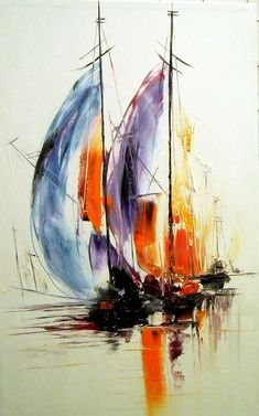 Above Easy Acrylic Abstract Painting Ideas are the basic art you must try your hands on. These own art of abstract painting will give you satisfaction for. Abstract Painting Easy, Abstract Watercolor Art, Abstract Oil, Abstract Canvas, Canvas Art, Sailboat Art, Sailboat Painting, Pop Art, Fine Art