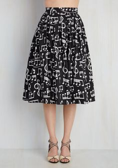 bddc008d2fa2 Printed Skirts  amp  Pants - Floats Your Note Skirt Cute Skirts