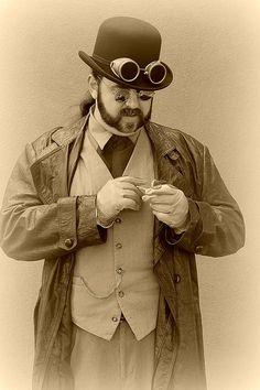 man steampunk