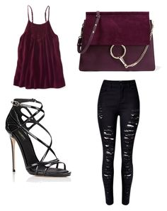 """""""Untitled #20"""" by laurakantarevic on Polyvore featuring WithChic, Dolce&Gabbana, Chloé and Aéropostale"""
