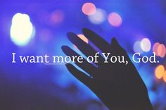 More of you...