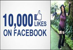 get you 10000 Facebook Likes With Lifetime Guarent... for $30
