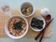 Oyster porridge with home made pickle