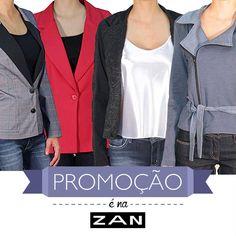 Aproveite a nossa promoção para garantir os looks do inverno! #Promoção #Zan #VaideZan