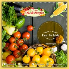 #Freshfrugies @freshfrugies #Farm2Table