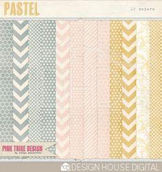 Pastel - Digital Papers