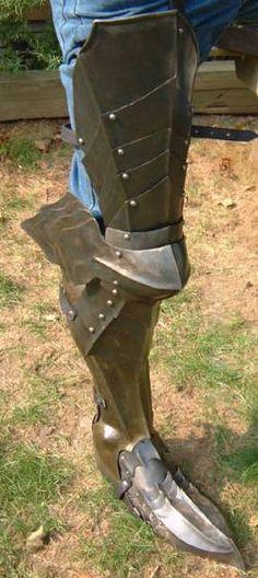 Uma das protecções dos cavaleiros medievais quando iam para a guerra.
