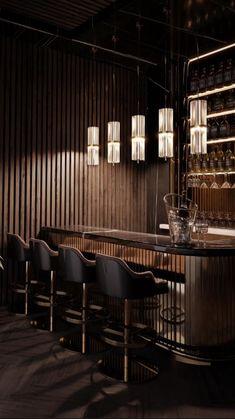 Cl Design, Lounge Design, Bar Interior Design, Restaurant Interior Design, Bar Lounge, Bar Counter Design, High Ceiling Living Room, Luxury Bar, Architecture Restaurant