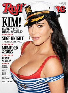 Kim Kardashian, Huge Boobs Cover Rolling Stone. The latest In Hollywood Gossip!