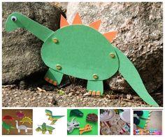 Manualidades originales ¡de dinosaurios!: http://www.bloglovin.com/frame?post=3474973879&group=0&frame_type=l&blog=1449893&frame=1&click=0&user=0