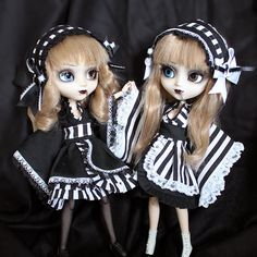 Adorable BJD twins
