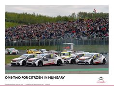 ONE-TWO FOR CITROËN IN HUNGARY