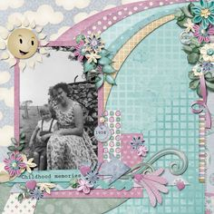 Childhood memories, created with Once upon a dream by Kathryn Estry