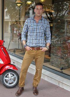 chemise denim timberland pantalon hm les hommes pinterest styles urbains chemises et mode. Black Bedroom Furniture Sets. Home Design Ideas