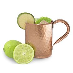 Dungri India ® Moscow Mules Vodka Mug – 100% pure copper Lacquered Finish – Hammered Style Handmade Best Quality Capacity – 450 ML / 15 Oz Review