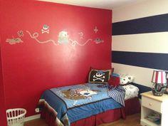 Boys room #pirate #circo