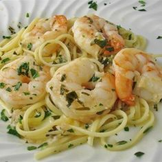 Shrimp Scampi with Pasta - Allrecipes.com