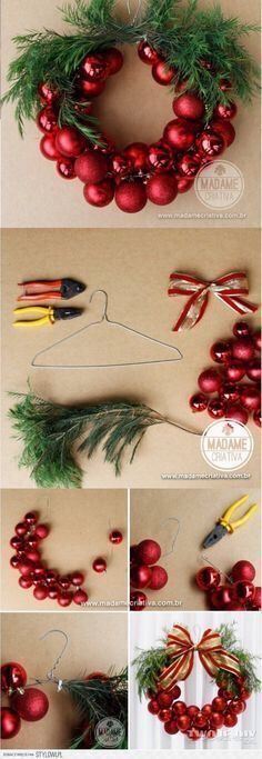 Happy New Year 2019 : Bo?e Narodzenie na Stylowi.pl Mehr (Diy Christmas Wreath) The post Happy New Year 2019 : Bo?e Narodzenie na Stylowi.pl Mehr (Diy Christmas Wreath) & appeared first on Dekoration. Noel Christmas, Winter Christmas, Funny Christmas, Christmas Balls, Buffalo Plaid Christmas Ornaments, Christmas Ornament Wreath, Christmas Clothes, Rustic Christmas, Handmade Christmas