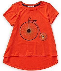Copper Key Big Girls 716 Short Sleeve Bicycle Knit Tee #Dillards