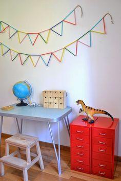 Kids room - Straw bunting - Mommo Design
