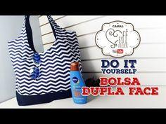DIY ::: Bolsa Dupla Face - By Fê Atelier