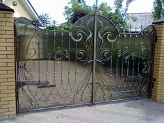кованые ворота | Кованые ворота, калитки, заборы ...