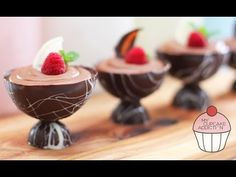 Chocolate Mousse Recipe - 2 Ingredients and OH SO EASY! | My Cupcake Addiction - YouTube