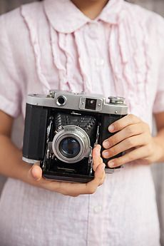 Relentlessly Creative Stock Photos and Videos Girls With Cameras, Antique Cameras, Female Photographers, Photography Camera, Fujifilm Instax Mini, Royalty Free Stock Photos, The Unit, Photo And Video, Lady