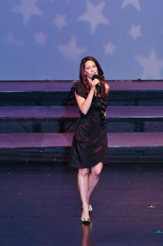 Singin' my heart out!