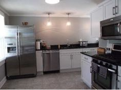 I like the 2-part kitchen aspect!  Find this home on Realtor.com