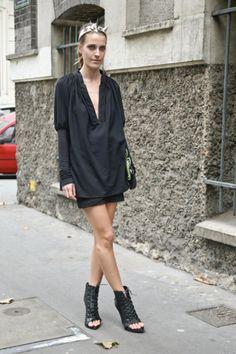 Vanessa Traina in Givenchy
