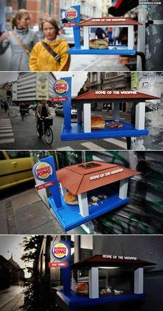 Burger king. Nice idea.