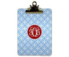 $29.95 Personalized Clipboard from Paper Concierge. Great Gift! Quick Ship!