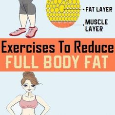 Exercises to Reduce Full Body Fat