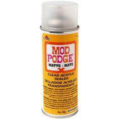 Plaid Mod Podge 1469 12-Ounce Clear Acrylic Sealer, Matte