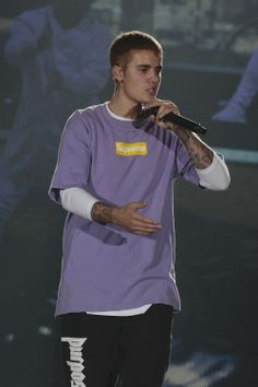 September 20: [More] Justin performing at the AccorHotels Arena in Paris, France.