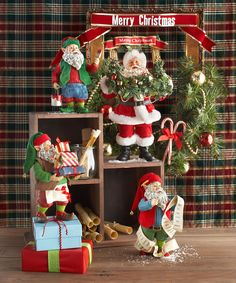 "Department 56 Possible Dreams ""Traditions"" Santas 2013 Z"
