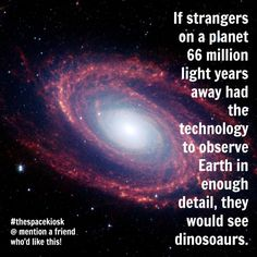 Yes, dinosaurs. Bite-sized, mind blowing space facts about the Universe and the cosmos. Whether you're new to astronomy / astrophysics or not, check us out @ https://www.instagram.com/thespacekiosk/ Image: NASA / JPL Caltech Harvard-Smithsonian Center for Astrophysics