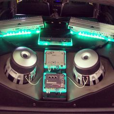 green led lights custom chevrolet blazer jl audio system car audio