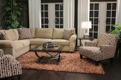 A perfect living room for those who prefer a minimal style! | Houston, TX | Gallery Furniture |